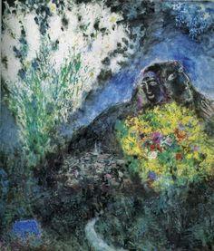 """Marc Chagall - """"La Baou de Saint-Jeannet"""", 1969"""