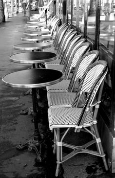 A Wednesday Wander: Coffee in Paris - With The Grains Coffee In Paris, Paris Cafe, Latte Art, Wander, Dining Chairs, Repeat, Furniture, Home Decor, Vintage