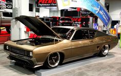 customized ford talledega | 1969 Ford Talladega GPT Special Boasts Barely Street-Legal Power