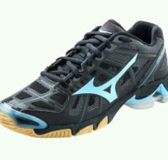 Mizuno volleyball shoes, but the blue purple