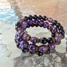 Amethyst and Black Onyx