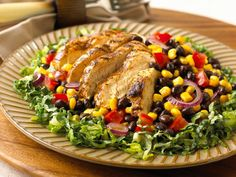 Southwestern Grilled Chicken Salad