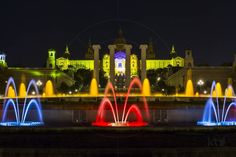 Magic Fountain of Montjuïc Barcelona Catalonia Spain