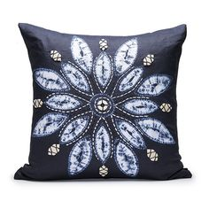 Ankasa Navy Shibori Pillow