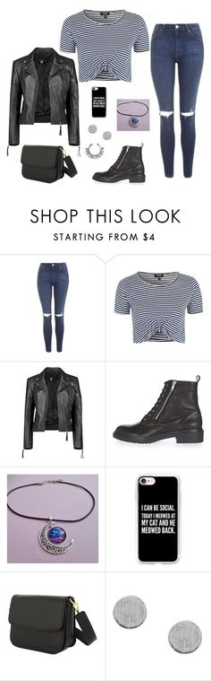 """Untitled #136"" by elo379 ❤ liked on Polyvore featuring Topshop, Boohoo and Casetify"