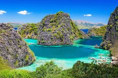 There's nothing as stunning as arriving into Palawan. From Puerto Princesa to El Nido the views are umatched. Palawan, Voyage Philippines, Philippines Cebu, Coron Island, Boracay Island, Belmont Hotel, Scuba Travel, Surf, Regency Hotel