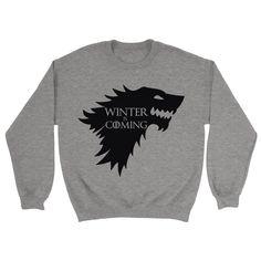 Winter Is Coming Sweatshirt - https://shirtified.co.uk/product/winter-coming-sweatshirt/