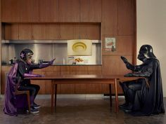Mamika series by  Photographer Sacha Goldberger saw that his 94 y.o. grandmother felt bored, so he started a project and turned her into a superhero.