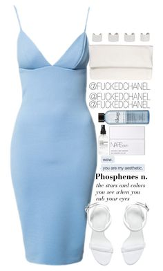 █ █ by fuckedchanel on Polyvore featuring polyvore, fashion, style, Alexander Wang, Lukas Gschwandtner, Maison Margiela, NARS Cosmetics, philosophy and Cotton Candy