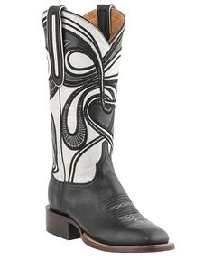 Lucchese Handcrafted 1883 Hypnotic Swirl Cowgirl Boots - Square Toe