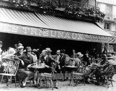 Image result for cafe de flore 1920's