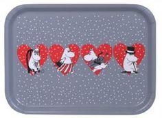 Muumi Tarjotin / Moomin Heart Tray #Muurla