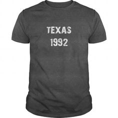 Texas 1992 Birth TShirt #1992 #tshirts #birthday #gift #ideas #Popular #Everything #Videos #Shop #Animals #pets #Architecture #Art #Cars #motorcycles #Celebrities #DIY #crafts #Design #Education #Entertainment #Food #drink #Gardening #Geek #Hair #beauty #Health #fitness #History #Holidays #events #Home decor #Humor #Illustrations #posters #Kids #parenting #Men #Outdoors #Photography #Products #Quotes #Science #nature #Sports #Tattoos #Technology #Travel #Weddings #Women