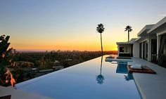 I think it'd be kinda hard to have a bad day if your backyard was an infinity pool.