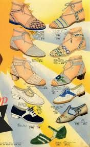 1950's summer shoes - Google Search