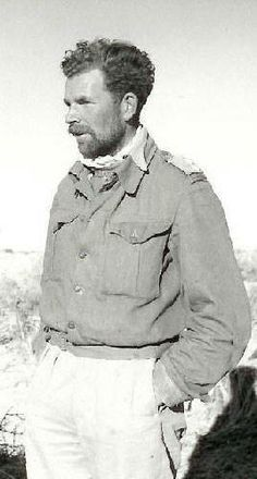 Captain (later Major) John Richard Easonsmith MC, DSO of the Long Range Desert Group