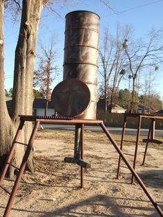 Homemade 700# Protein Gravity Feeder - TexasBowhunter.com Community Discussion Forums