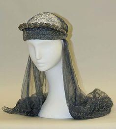 House of Lanvin evening headwear, 1930