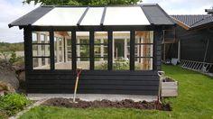 trädgård,växthus,gamla fönster,diy,gör det själv