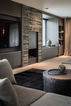 Home Interior Design, Interior Architecture, Attic Master Bedroom, Victorian Living Room, Bungalow Renovation, Art Deco Home, Elegant Homes, Loft, Cheap Home Decor