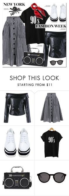 """""""What to Wear to NYFW"""" by oshint ❤ liked on Polyvore featuring STELLA McCARTNEY, Thierry Lasry and Mulberry"""