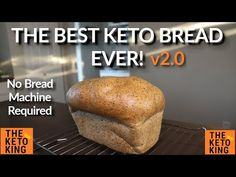 Everyone likes a good bread recipe, and there are a heap of keto ones out there but this has to be THE Closest thing to regular bread I have tasted. You wont be dissapointed (Eating Keto Style! Low Carb Bread Machine Recipe, Bread Recipe Book, Bread Recipe Video, Bread Maker Machine, Lowest Carb Bread Recipe, Recipes With Yeast, Yeast Bread Recipes, Banana Bread Recipes, Ketogenic Recipes