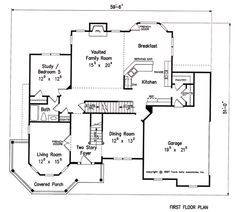 Ferguson - Home Plans and House Plans by Frank Betz Associates