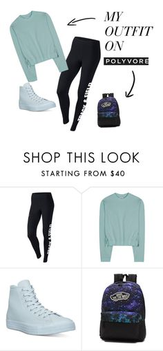 """Isabel Gray's school outfit"" by cmshafgirl ❤ liked on Polyvore featuring NIKE, Acne Studios, Converse and Vans"