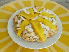 Coconut Mango Breakfast Cake