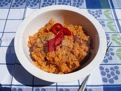 Bácskai rizseshús - Anya főztje Hungarian Recipes, Hungarian Food, Fried Rice, Comb, Ethnic Recipes, Drinks, Drinking, Beverages, Hungarian Cuisine