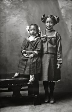History in Photos: African American Portraits.  Jim Richardson's girl, 1902