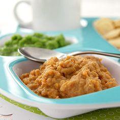 Hovězí s karotkou: kvalitní kousek hovězího nakrájejte na kostky, v hrnci je zalijte kojeneckou vodou, aby byly ponořené a vařte alespoň dvě hodiny. Na posledních 20 minut přidejte na kousky nakrájenou karotku. Hotové měkké hovězí a karotku rozmixujte s trochou vývaru, který z vaření vznikl, na jemné pyré.