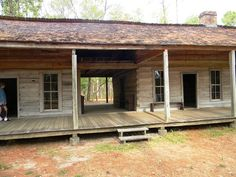 The dogtrot, also known as a breezeway house, dog-run, or possum-trot, is a style of house that was common throughout the Southeastern Unite.
