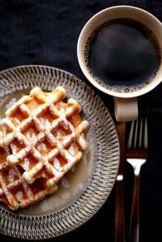 The ultimate Belgian waffle recipe