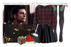 """Imagine Decorating Yours and Bucky's House for Christmas"" by fandomimagineshere ❤ liked on Polyvore featuring Sebastian Professional, Pretty Polly, MSGM, Chicnova Fashion, Dolce&Gabbana and Chanel"