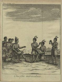 """D.S. XVIII - 108 - 0003_new - Giovanni Antonio Cavazzi (1622-1692) ; Jean-Baptiste Labat,(1633 -1738) – """"Relation historique de l'Ethiopie Occidentale…"""".  A Paris : chez Charles-Jean-Baptiste Delespine, le fils, Libraire, 1732. BNP D.S. XVIII - 108"""