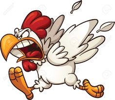 Image result for angry chickens