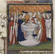 Baptism of Isabella After 1380