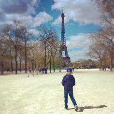 Eiffel-torni keväällä 2015 #eiffelpower