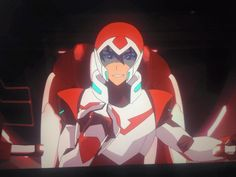 Keith smiled for his Red Lion before he thanks it from Voltron Legendary Defender