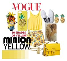 Minion Yellow by hippyhappyhippo   made on Polyvore