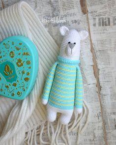 Amigurumi bear in sweater crochet pattern #amigurumi #amigurumipattern #crochettoy