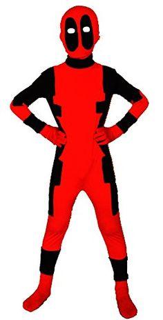 Riekinc Unisex Lycra Spandex Zentai Kids Cosplay Costumes