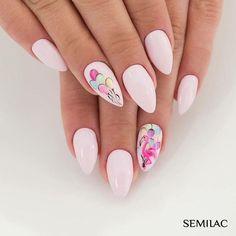 UV device, nail accessories - nail art - starter set - UV gel kit - Beauty Nails – do it yourself nail design polish # gel nails design # nail design - Pink Summer Nails, Spring Nails, Nail Designs Spring, Nail Art Designs, Flamingo Nails, Coffin Nails Long, Nail Accessories, Nail Swag, Birthday Nails