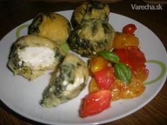 Špenátovo-polentové gule (fotorecept) - Recept Polenta, Ricotta, Ale, Eggs, Tasty, Breakfast, Food, Morning Coffee, Beer