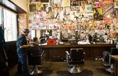 Rudy's Barber Shop.