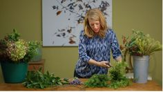 Make your own Fragrant Wreath on Houzz TV. http://www.houzz.com/ideabooks/77641530/list/houzz-tv-make-a-fragrant-wreath-for-your-front-door