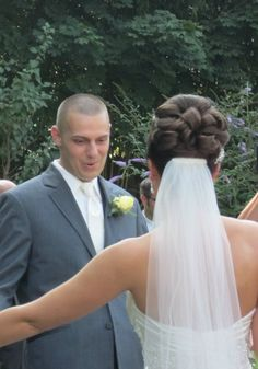 hair updo with veil - Google Search