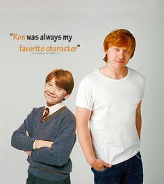 Ron will always be my favorite character!