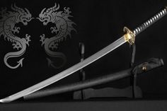 Samurai Weapons, Ninja Weapons, Anime Weapons, Fantasy Weapons, Medieval Weapons, Amaterasu, Samurai Concept, Sword Reference, Rifles